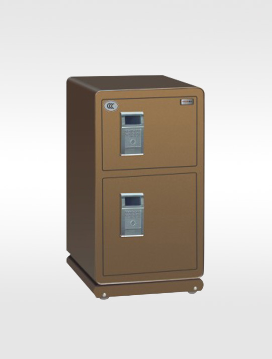 3206-铂金75电子双门保险柜