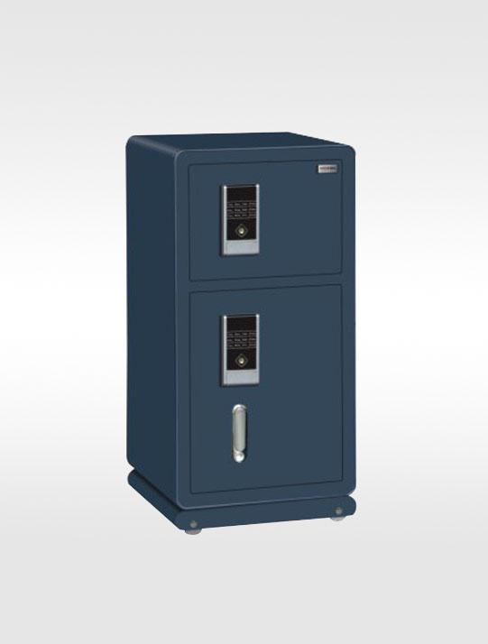 3108-85双门电子蓝色经典保险柜