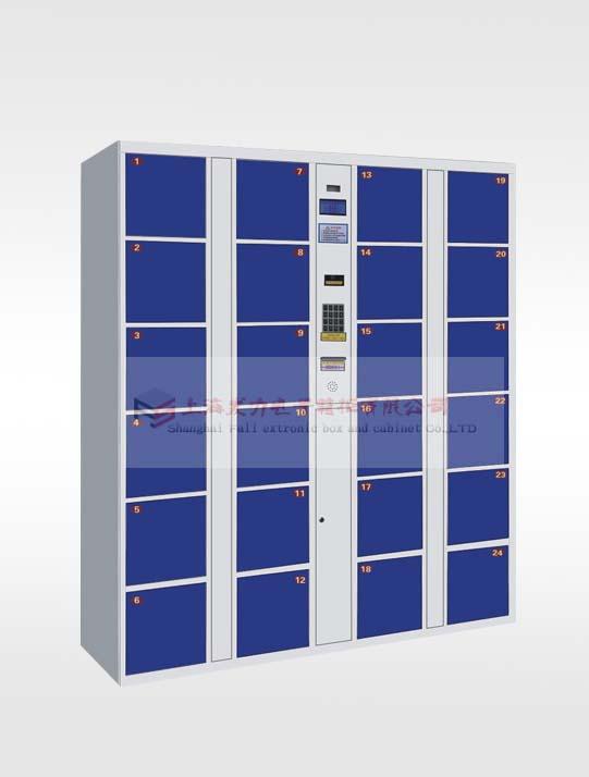 二十四门电子存包柜