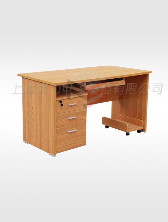柚木办公桌(活动柜)