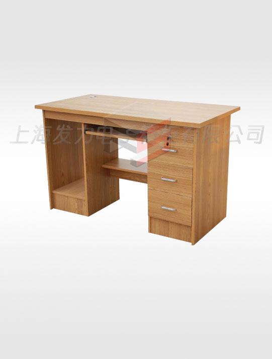 8003-柚木电脑桌