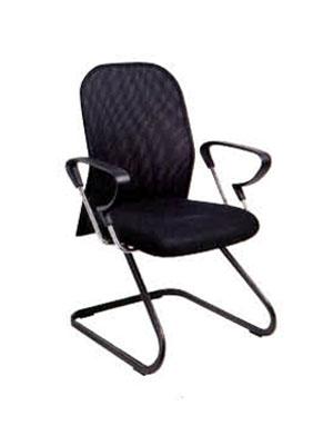 6006-网布弓形椅