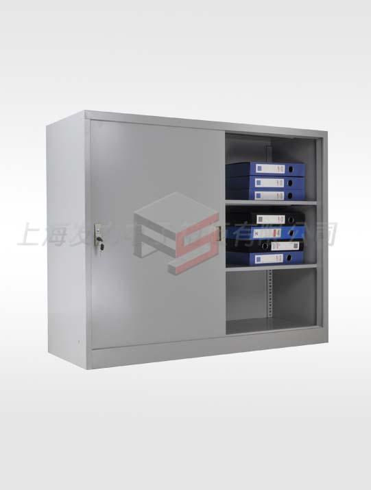 1102-下置式宽体铁移门柜