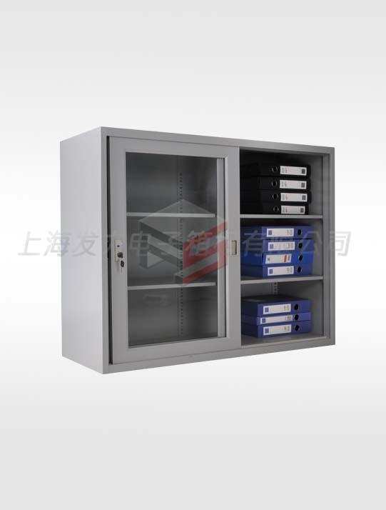 1101-上置式宽体玻璃移门柜